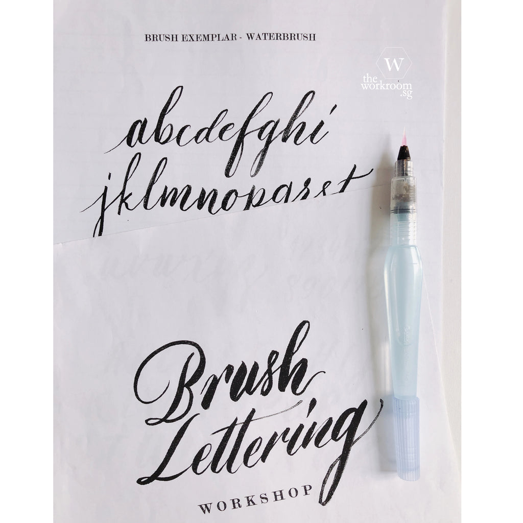 Brush Lettering Exemplar - PDF Download