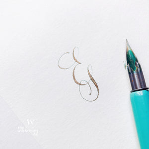 Modern Calligraphy Workshop — Capitals & Flourishing