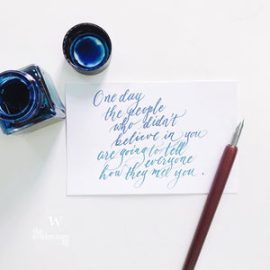 Virtual Workshop — Modern Calligraphy