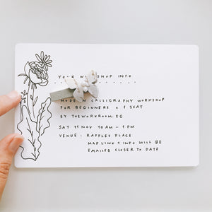 Add a Handwritten Card