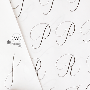 Online Class - Copperplate Capitals