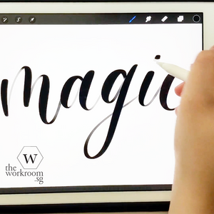 Online Class — iPad Lettering