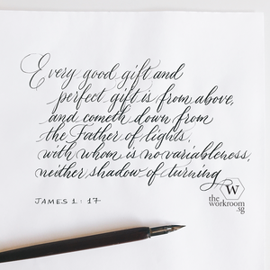 Open image in slideshow, Virtual Workshop — Modern Calligraphy
