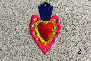 Corazones de Metal Mini