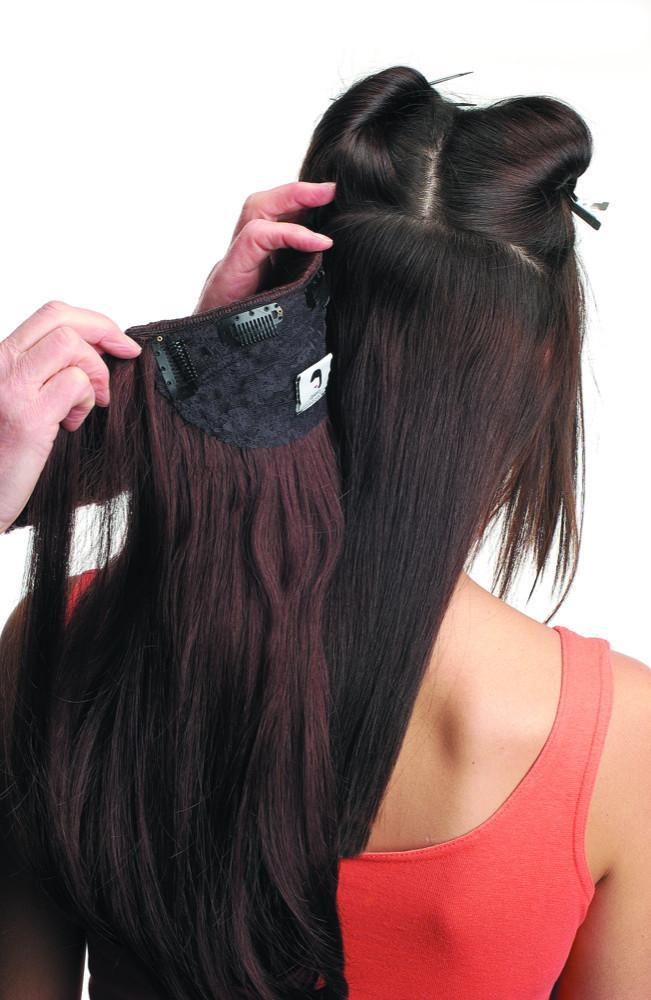Chantelle Human Hair Clip In Dscontinued Style