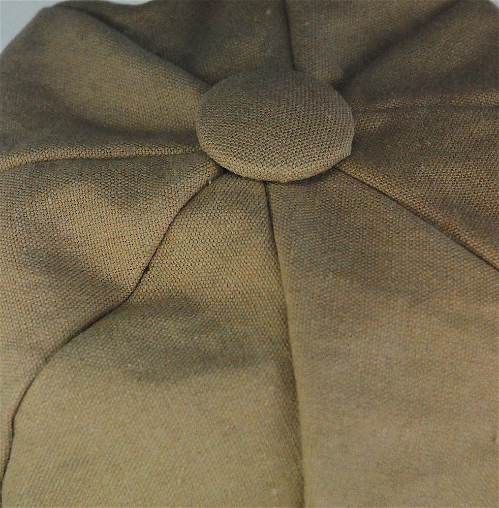 "Stylish sectional cap, made to order in ""linen"" color - mariacurcic - 3"