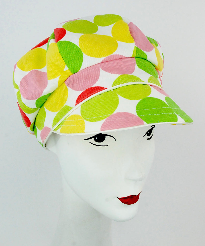 Color polka dot Cap for summer