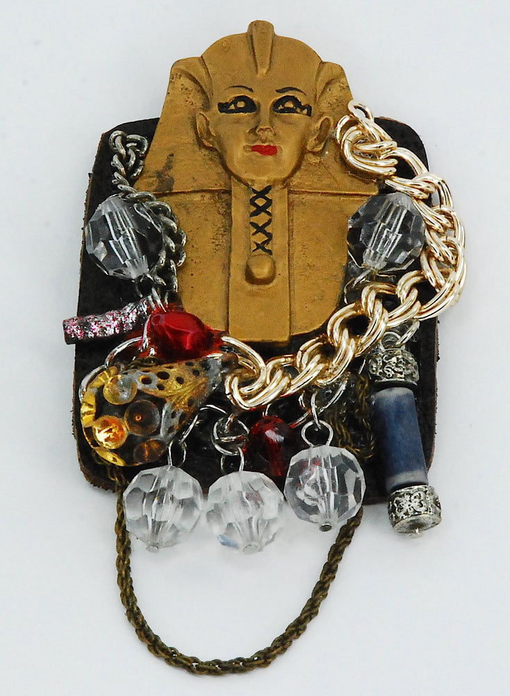 Pharaoh brooch