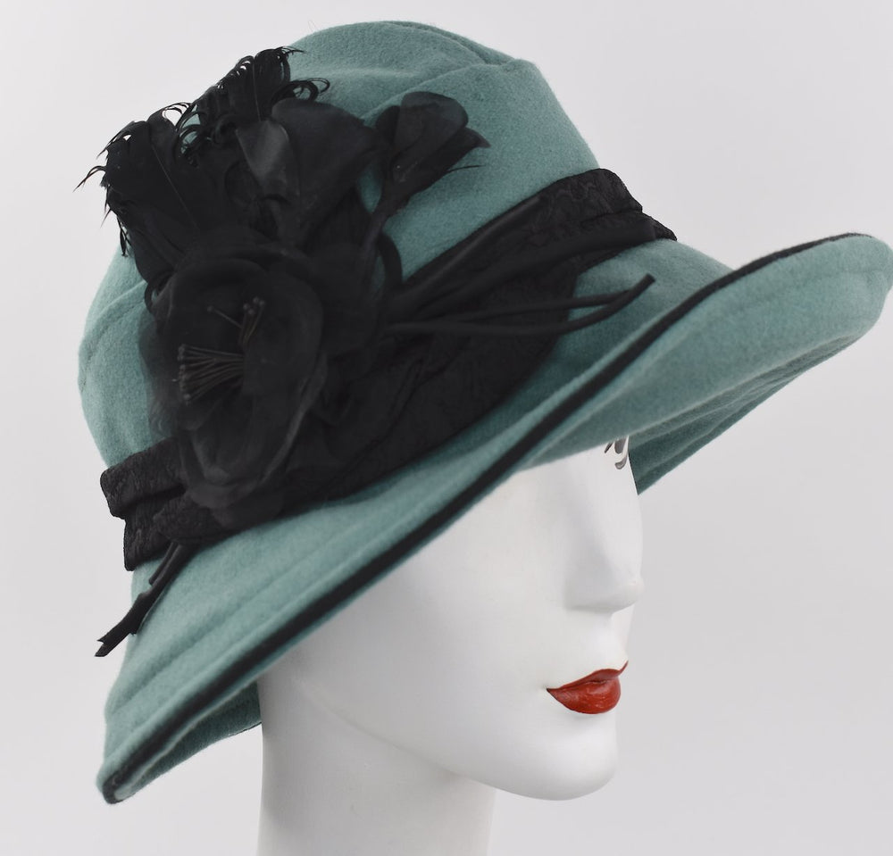 downton abbey cloche hat