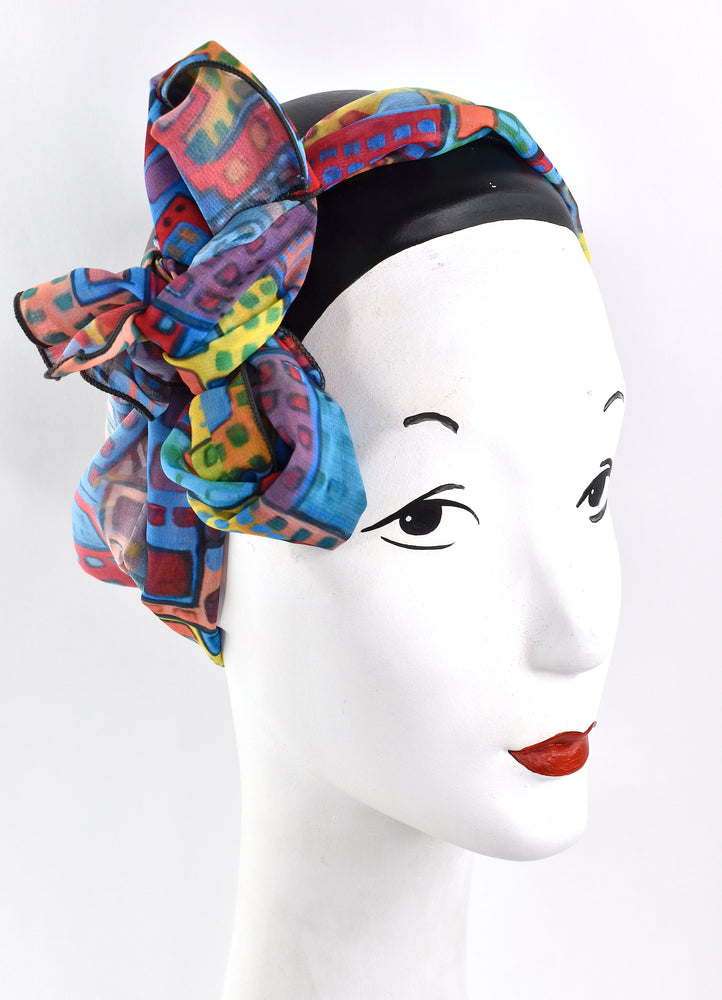 City in motion short scarf/headscarf