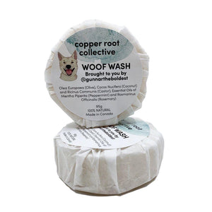 Woof Wash Shampoo Bar