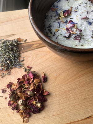 Lavender Butterfly bath salt