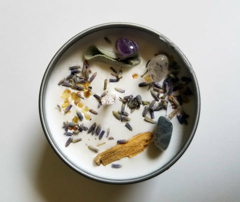 House of Good JuJu - Ex Libris Candle - The Niche Naturals