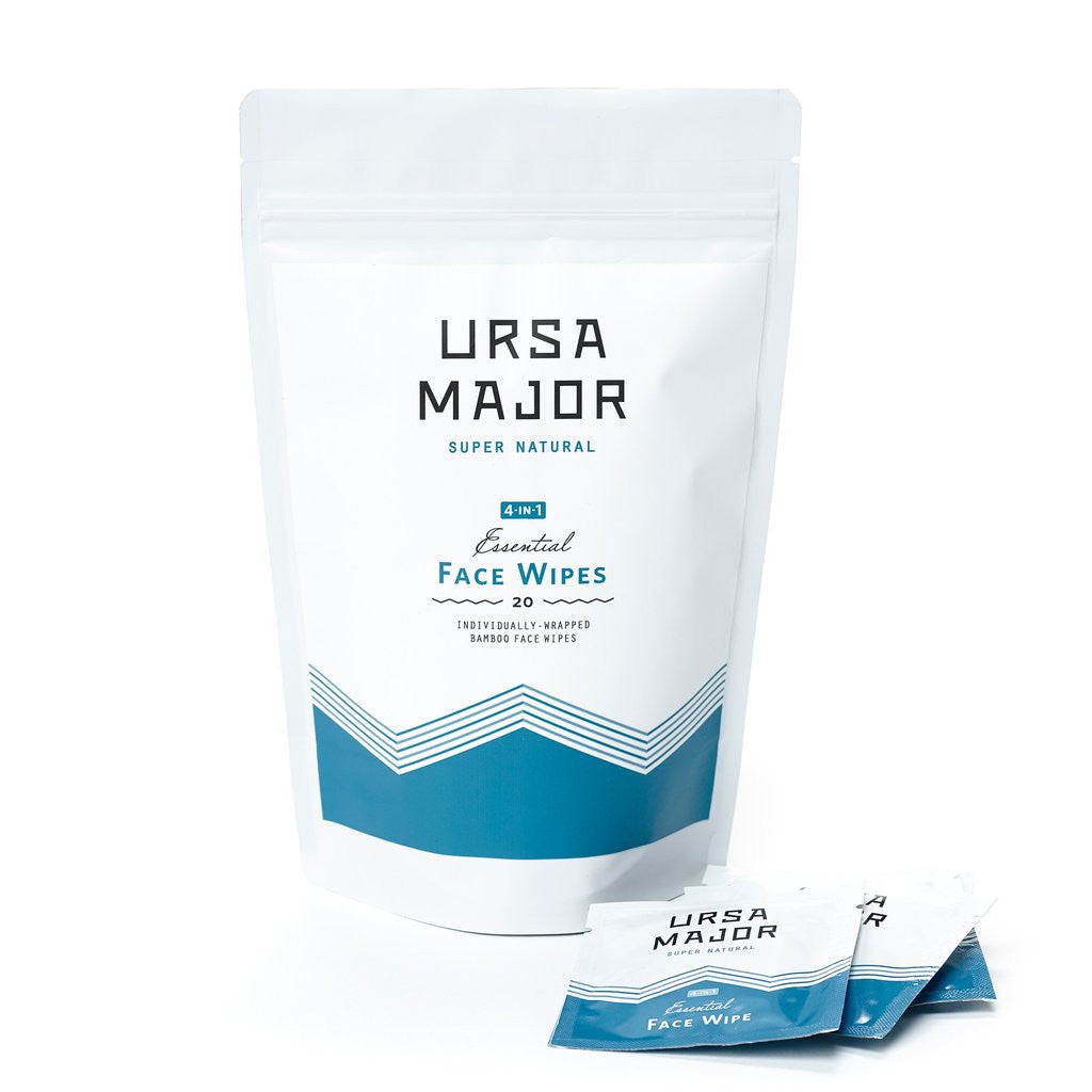 Ursa Major - Essential Face Wipes - The Niche Naturals