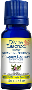 Divine Essence - Geranium Bourbon Essential Oil - The Niche Naturals
