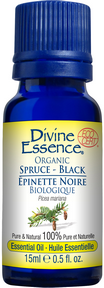 Divine Essence - Black Spruce Essential Oil - The Niche Naturals