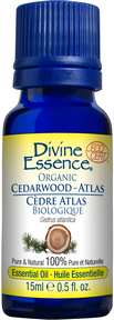Divine Essence - Atlas Cedarwood Organic Essential Oil - The Niche Naturals
