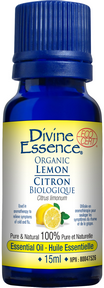 Divine Essence - Lemon Essential Oil - The Niche Naturals