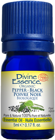 Divine Essence - Organic Black Pepper Essential Oil - The Niche Naturals