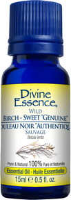 "Divine Essence - Wild ""Genuine"" Birch Sweet Genuine Essential Oil - The Niche Naturals"