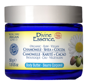 Divine Essence - Camomile + Shea + Cocoa Body Butter - The Niche Naturals