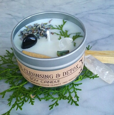 House of Good JuJu - Soul Cleansing & Detox Candle - The Niche Naturals
