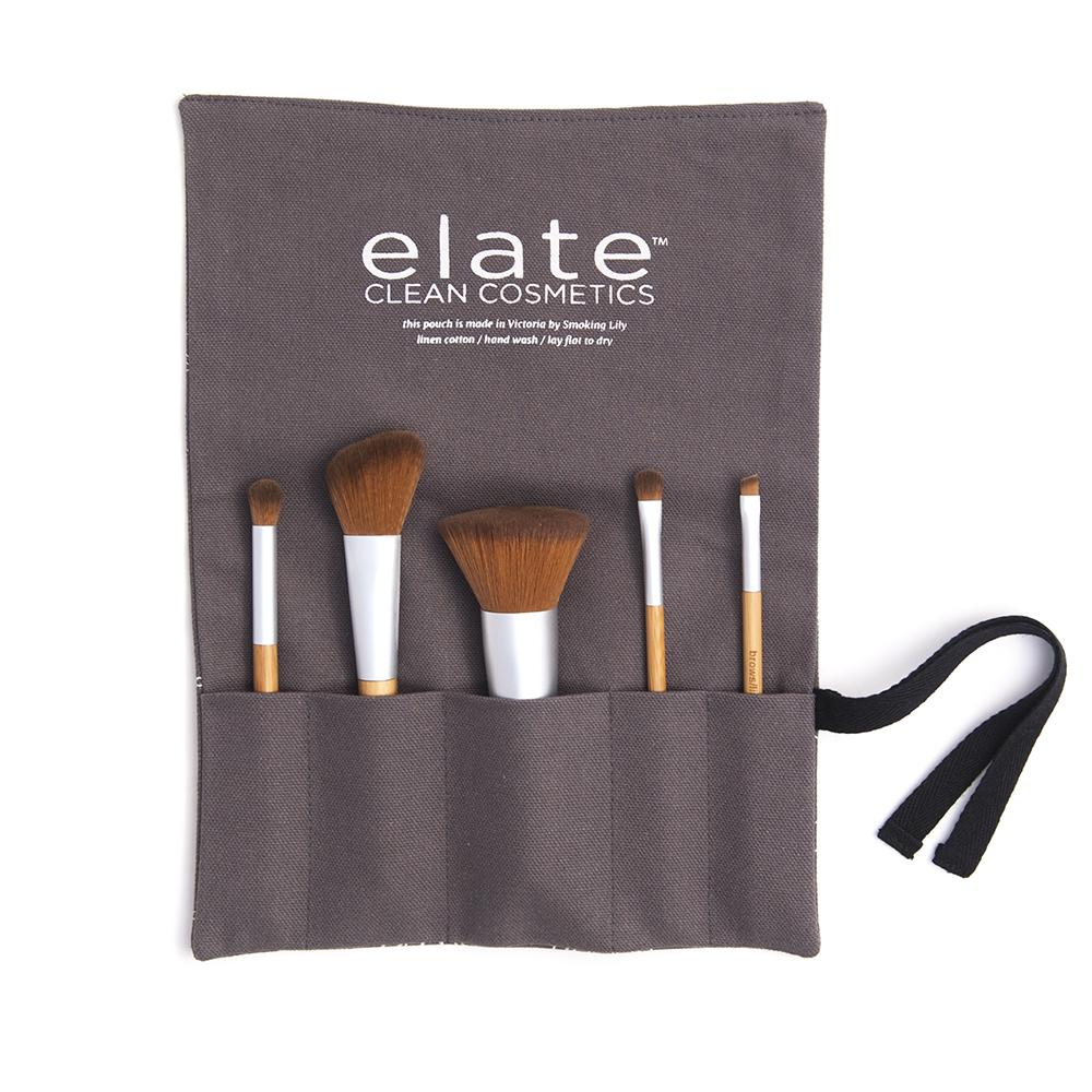 Elate - Vegan Brush Set - The Niche Naturals