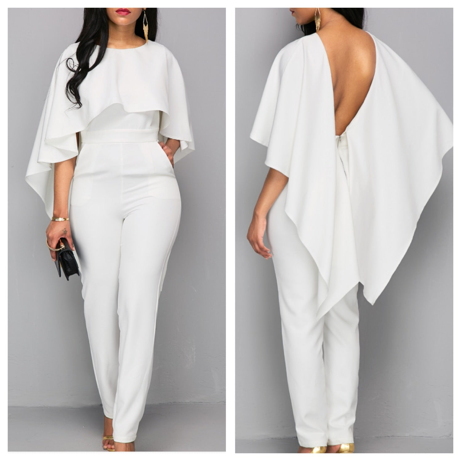 The DRAPED JUMPSUIT