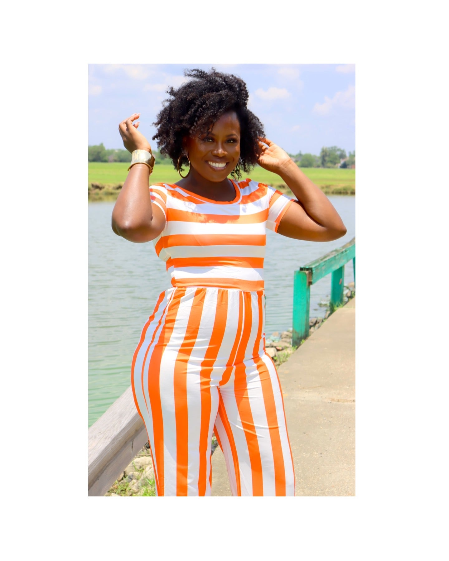 The CANDY STRIPE JUMPSUIT