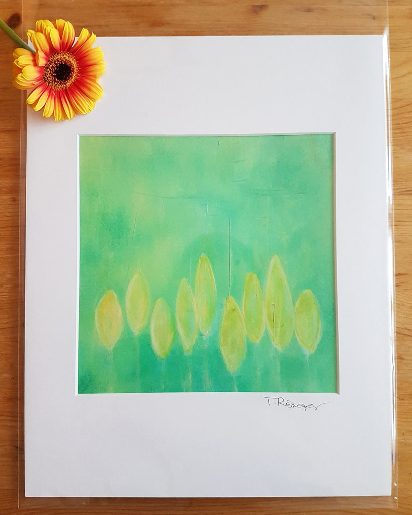 New Growth - 11 x 14 Matted Print