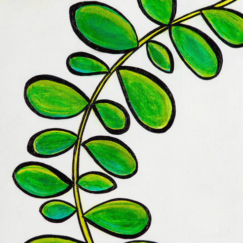 Tropical Leaves 2 - 11 x 14 Matted Print