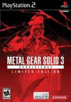 Metal Gear Solid 3 Subsistence Limited Edition