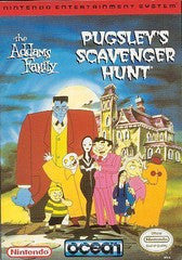 Addams Family Pugsley's Scavenger Hunt