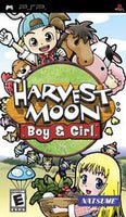 Harvest Moon Boy and Girl