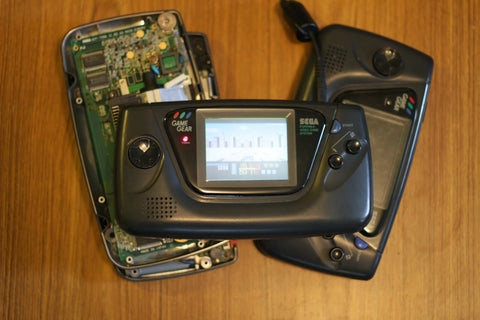 Game Gear Capacitor Replacement