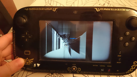Wii U Gamepad Display Replacement