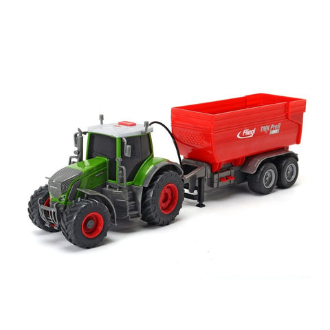 Fendt 939 Vario with Trailer