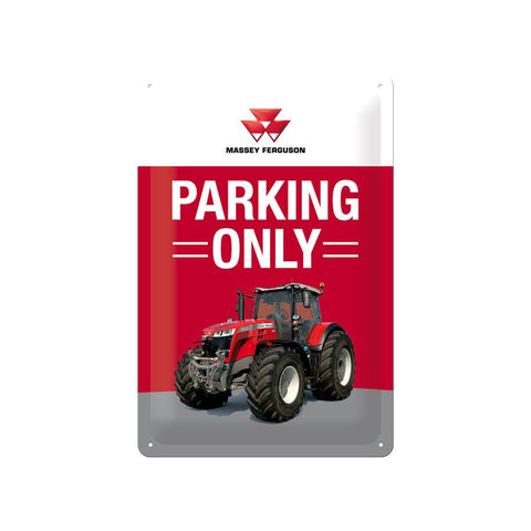 MF Parking Only Sign