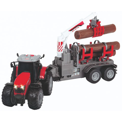 MF 8737 Wood Loader