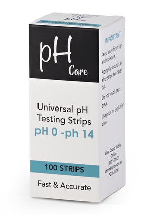PH Urine & Saliva Test Strips