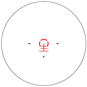 AR-BDC2 RETICLE