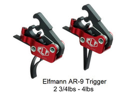 Elftmann Adjustable (2.75-4lbs)  AR-9/PCC Match Trigger