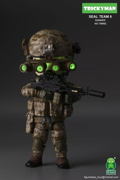 FigureBase Tricky Man Seal Team 6 Gunner TM002