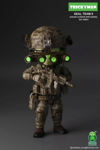FigureBase Tricky Man Seal Team 6 Rifle Man TM001