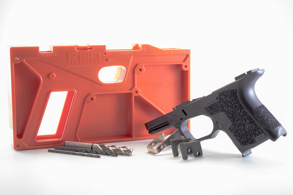 Polymer80 PF940SC™ 80% Textured Compact Pistol Frame Kit for Glock Gen3 26/27