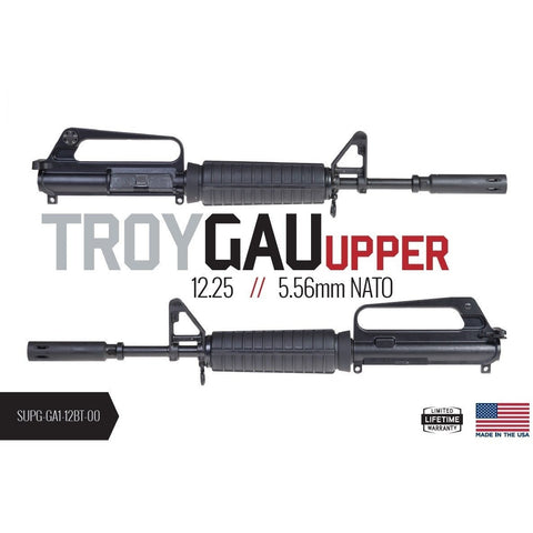"***PRE-ORDER*** Troy Industries 12.25"" GAU Complete Upper Assemebly (16""OAL Pinned/Welded) - MDX Arms"