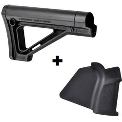 MDX Featureless Combo#1 Magpul MOE Carbine Stock with Strike Simple Grip