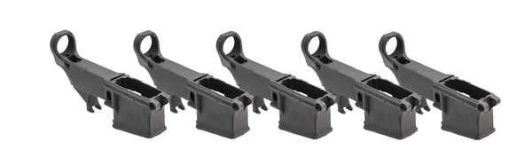 MDX Arms 7075-T6 80% AR15 Lower Anodized with Open Trigger Guard 5 pk