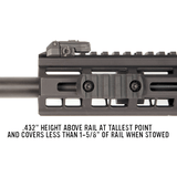 Magpul MBUS Pro Sight - Front - MDX Arms