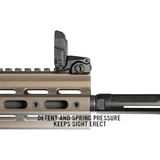Magpul MBUS Sight - Front - MDX Arms
